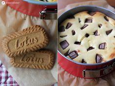 kinderriegel cheesecake mit karamellkeksboden
