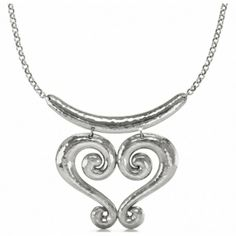 Genoa Heart Necklace  available at #Brighton...  I'm not a big fan of heart shaped stuff...but this is really coolllllll
