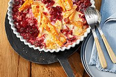 Svenjas Rote Bete-Süßkartoffel Gratin mit Ingwer