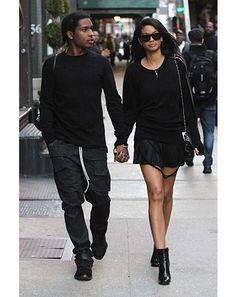 black shoe style