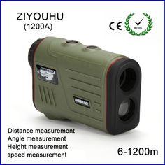 161.60$  Watch now  - 1200m Hunting Monocular Telescope Golf Laser range Distance Meter Rangefinder Range Finder with angle height speed measurement