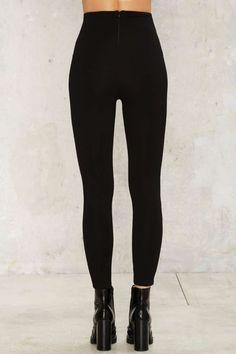 Perfect Strangers High-Waisted Leggings - Black - Clothes   Legging