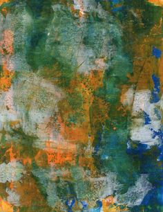 Acrylic and alcohol on 110 lb card stock, 8.5 x 11, by Gary Rea