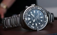 Hands-on look at the 2014 Seiko Propex Kinetic GMT Diver's ref. and watches. Sport Watches, Cool Watches, Watches For Men, Citizen Eco, Panerai Submersible, Best Sports Watch, Oris Aquis, Most Popular Watches, Watch Blog