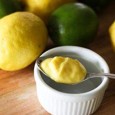 Lemon or lime curd