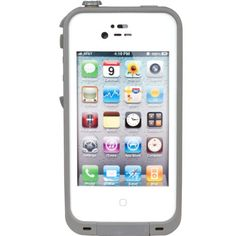 New Waterproof Shockproof Dirtproof Snowproof Protection Case Cover for Apple Iphone 4 4S (White) C-Blek http://www.amazon.com/dp/B00I59H5CO/ref=cm_sw_r_pi_dp_GZ3.tb188WGT7