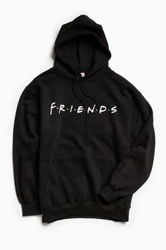 Shop Friends Hoodie Sweatshirt at Urban Outfitters today. We carry all the latest styles, colors and brands for you to choose from right here. Sweatshirt Outfit, Friends Sweatshirt, Hoodie Jacket, Gucci Hoodie, Friends Shirts, Hoodie Sweatshirts, Hoody, Sweat Shirt, Trendy Hoodies