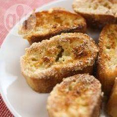 Rabanada de forno com leite condensado @ allrecipes.com.br