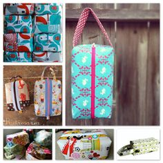 Boxy bags - so many fun tutorials