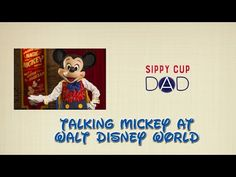 Talking Mickey at Walt Disney World