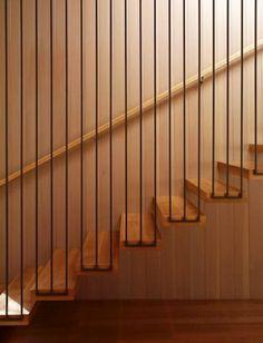Modern stairs railing interesting