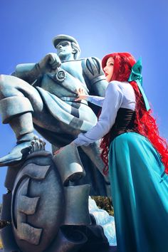 Ariel and Eric, Disney's The Little Mermaid, by Thecrystalshoe.