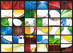 Book cover design, China Merchants manuals book CDR template vector (36)