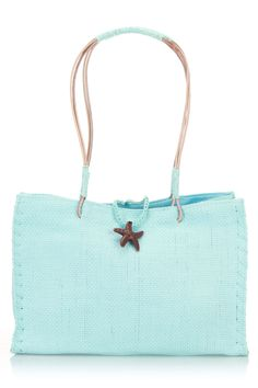 Starfish Small Tote In Blue
