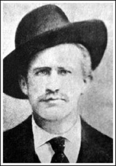 BARNEY RIGGS ... west Texas outlaw, man killer, and sometimes lawman; Riggs was known for his hot temper and being quick to pull his gun.  He was especially to be feared when liquored up. Moving to Arizona to stay ahead of the law, he once joined a posse formed by Cochise County Sheriff Johnny Behan to track down the Earp's.  Riggs was shot and killed in Fort Stockton by a young 21 yr old whom he had been bullying.