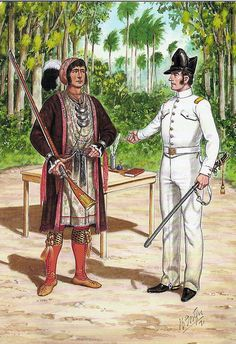 The American-Indian Wars (more specifically, the Seminole Wars {this is Seminole Chief Osceola}) by bjebie