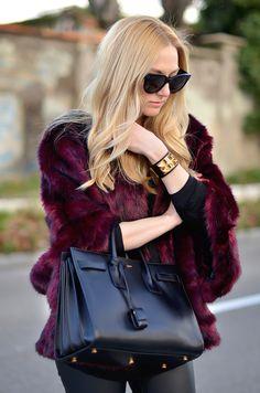 Wine fur
