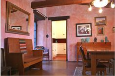 'Designer's Eclectic Pink California Adobe' by Shannon Malone - My Houzz (2012 Houzz copyright)