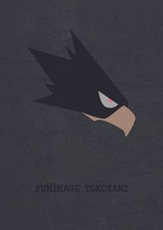 Fumikage Tokoyami  This guy is so bloody cool
