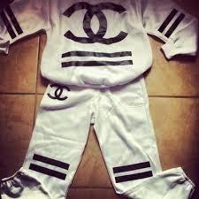 Chanel sweatsuit for men black chanel sweat suit black amp white chanel