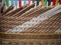 Мастер-класс Плетение МК закрытия косого плетения Трубочки бумажные фото 6