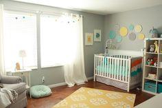 Sweet gender neutral nursery