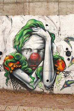 Weeping clown by cesarastudillo https://www.facebook.com/pages/Creative-Mind/319604758097900