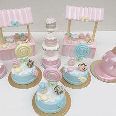 Candy Birthday Cakes, Birthday Treats, Rio Cake, Carousel Cake, Unicorn Themed Birthday, Cookie House, Fake Cake, Diy Birthday Decorations, Crazy Cakes
