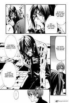 I've never seen him like this before either. But you overcame a lot Sebastian. You did great. Kuroshitsuji 65