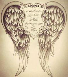 Inspiration - Tattoos of Hannah Inspirational Tattoos, Mom Tattoos, Remembrance Tattoos, Memorial Tattoos, Body Art Tattoos, Tattoos, Cute Tattoos, Feather Tattoos, Wings Tattoo