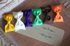 Amazing Fall set of Patty Clips! Perfect color combo for any girl! Bow Tie Hair, Hair Bows, Hopscotch, Color Combos, Hair Clips, Boutique, Trending Outfits, Fall, Unique Jewelry