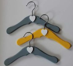 Decoration, Baby Wood Hanger Design: Wood Hangers For More Sophisticated Appearance Baby Clothes Hangers, Baby Yellow, Trending Outfits, Grey, Wood, Unique Jewelry, Vintage, Decoration, Design