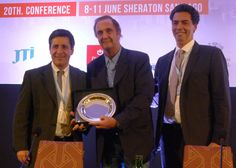 Distinguen al presidente de London Supply en el 20º congreso de ASUTIL celebrado en Santiago de Chile