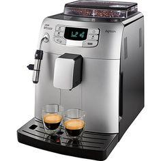 Máquina de Café Expresso Saeco Intelia Metal Hd8752 Prata