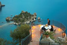 """Goethe called Taormina the """"greatest work of art and nature,"""" and we couldn't agree more. Explore this ancient city, learn to cook Sicilian food, and enjoy the breathtaking views of coastal Sicily during your cooking vacation with The International Kitchen. Four- and six-night itineraries are available starting at $2300 per person. See www.theinternationalkitchen.com for details."""