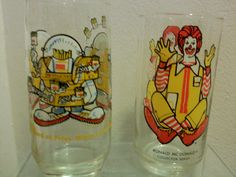 Classic McDonald character glasses itried to collect all these from mcdonalds 1970s Childhood, Childhood Toys, Childhood Memories, Thanks For The Memories, Great Memories, Kids Growing Up, 80s Kids, Oldies But Goodies, I Remember When
