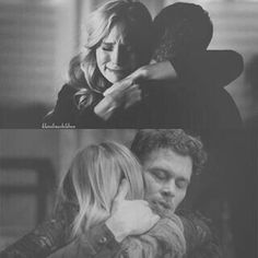 Ohhhh its sad I just realised its meant to look like Klaus and Caroline but really the top photo is Caroline and Stefan 😢 Caroline Forbes, Klaus And Caroline, Caroline The Originals, Joseph Morgan, Vampire Diaries Cast, Vampire Diaries The Originals, Daniel Gillies, Thomas Brodie Sangster, Klaus Tvd