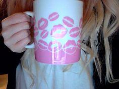 PINK Kisses Mug <3