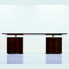 DESIGNER DESKS SC3003 Macassar Ebony   Taylor Llorente Furniture