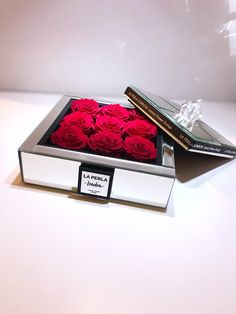 Excited to share this item from my #etsy shop: 9 Red Roses in Luxury Box , Preserved Rose, Preserved Flower Box, Forever Rose,Enchanted Rose, unique gift, #supplies #birthday #mothersday #rose #flowers #christmas #anniversary #gift #flowerbox Luxury Flowers, Unique Flowers, Love Flowers, Flower Box Gift, Flower Boxes, Unique Gifts, Handmade Gifts, Flower Truck, Forever Rose