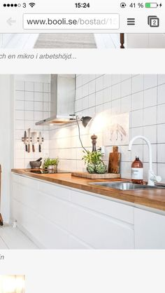 White kitchen part I.