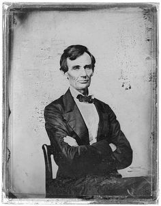 Abraham Lincoln, candidate for U.S. Presidency 1860, taken by Preston Butler, Library of Congress collection