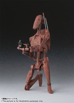 S.H.Figuarts Star Wars AOTC Battle Droid (Geonosis) Figure #StarWars