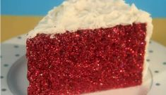 Sparkly Red Cake from Kate Spade – Edible Crafts Edible Glitter, Glitter Cake, Red Glitter, Glitter Letters, Glitter Party, Sparkly Cake, Red Cake, Edible Crafts, Cake Videos