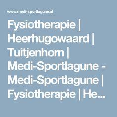 Fysiotherapie | Heerhugowaard | Tuitjenhorn | Medi-Sportlagune - Medi-Sportlagune | Fysiotherapie | Heerhugowaard | Tuitjenhorn