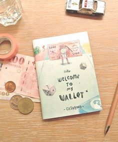 Welcome To My Wallet Mini Cashbook