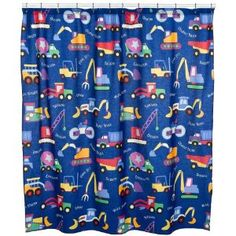 Olive Kids Shower Curtain