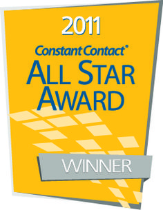 So proud to receive this award from Constant Contact! Thank you to my amazing clients! Kathy  http://buoymarketing.com