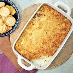 Our Favorite Chip and Dip Appetizers: Louisiana Hot Crab Dip
