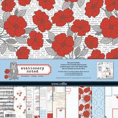 Teresa Collins - Stationery Noted Collection - 12 x 12 Paper and Accessories Pack at Scrapbook.com $10.99